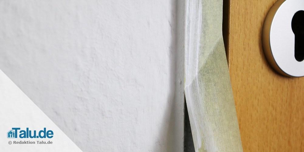 rauhfaser abkleben und streichen 10 schritte anleitung. Black Bedroom Furniture Sets. Home Design Ideas