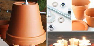 Teelichtofen bauen