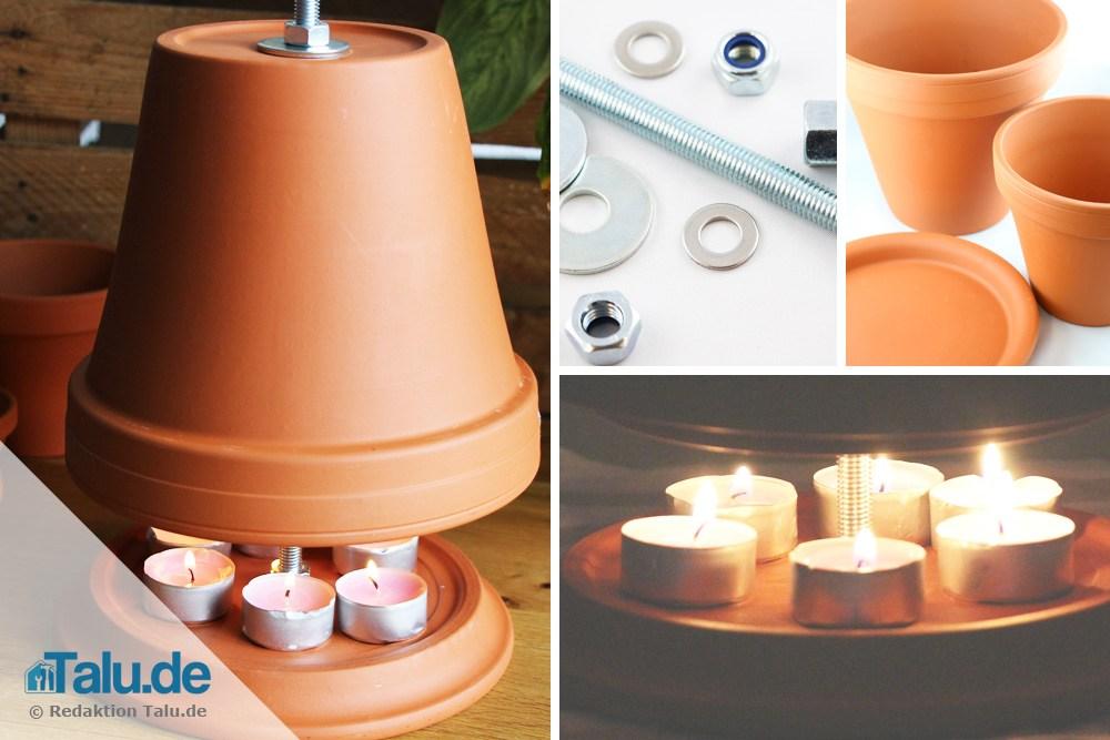 teelichtofen selber bauen hinterfragt test der heizleistung. Black Bedroom Furniture Sets. Home Design Ideas