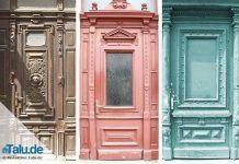 Holztüren renovieren