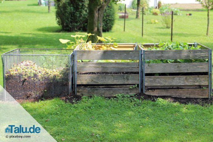 komposter bauen anleitung f r einen diy komposthaufen. Black Bedroom Furniture Sets. Home Design Ideas
