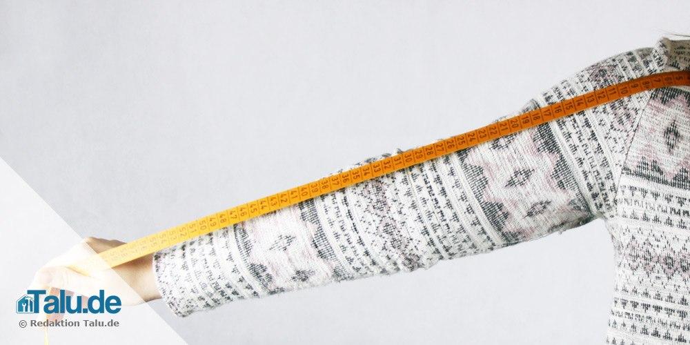 Armlänge messen