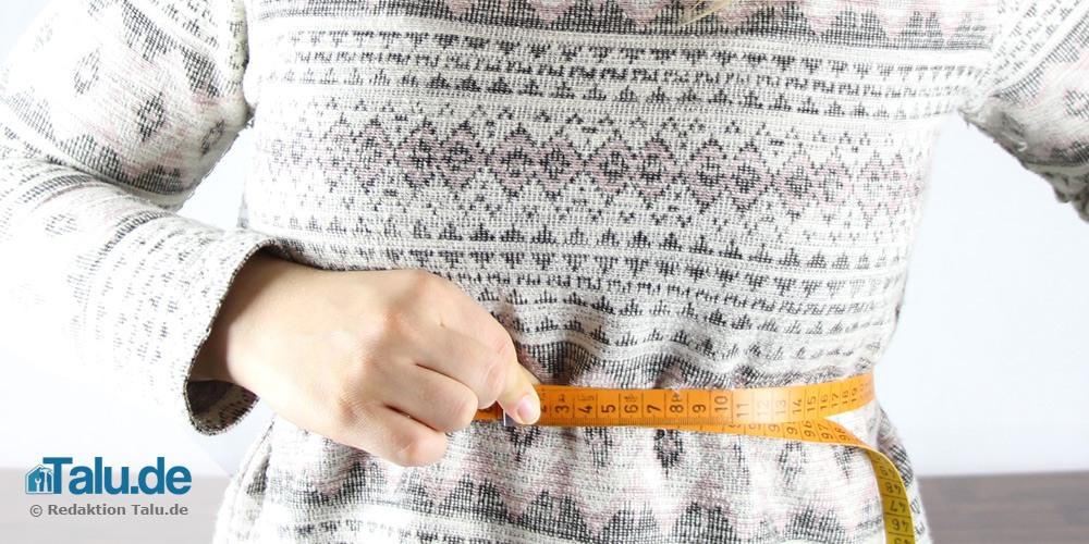 Bauchumfang messen