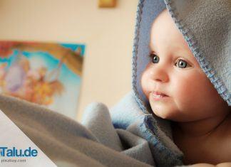 Größentabelle für Babys
