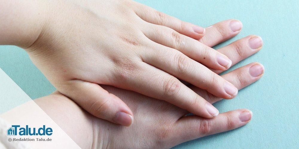 Hände pflegen