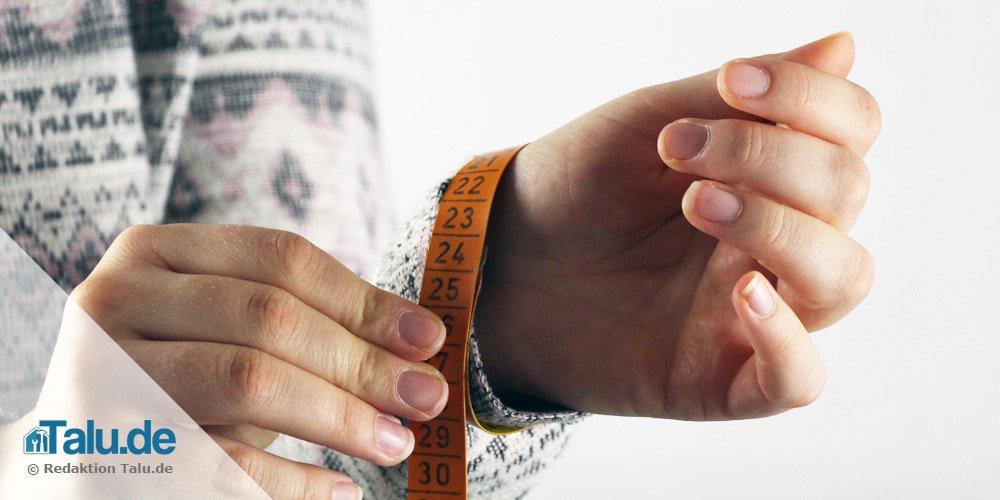 Handgelenk messen