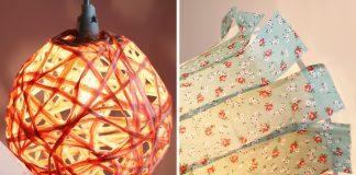 Lampenschirm selber bauen
