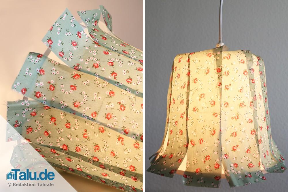 Lampenschirm bauen
