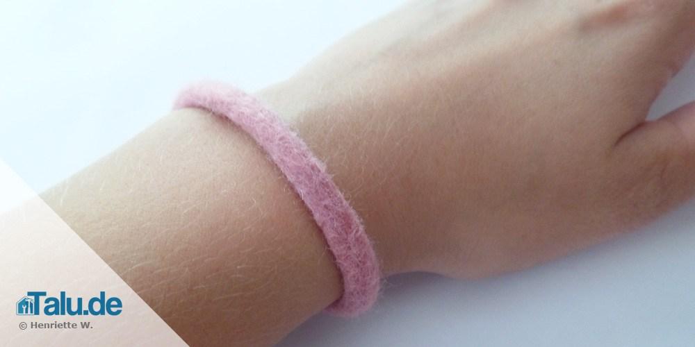 Armband filzen