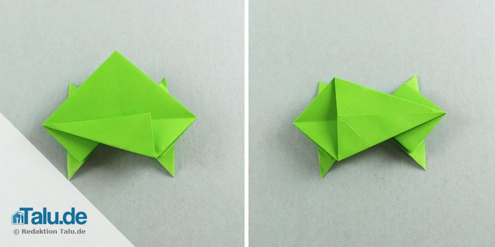 Origami Frosch