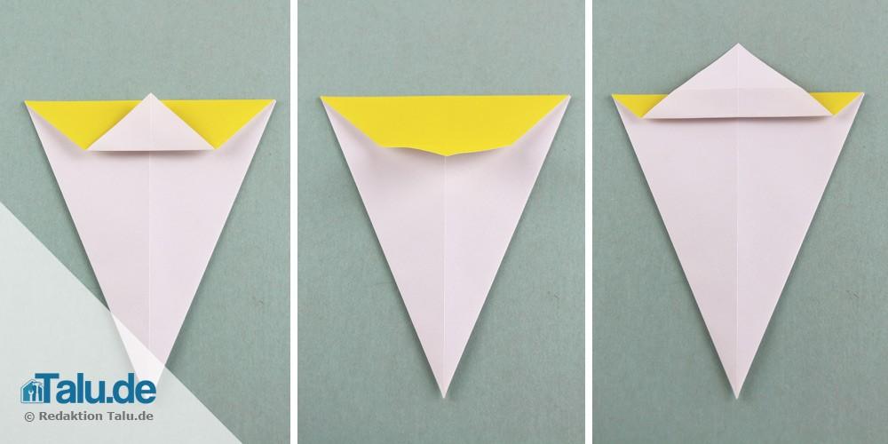 Origami Schwan aus Papier