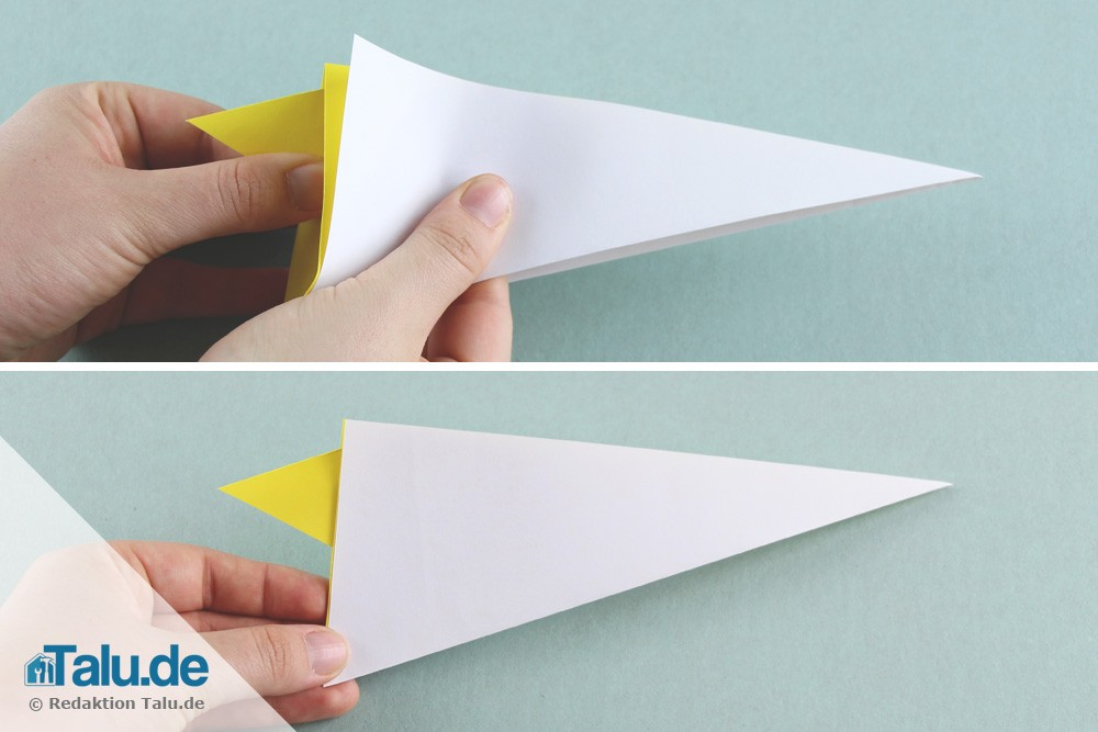 Schwan aus Papier