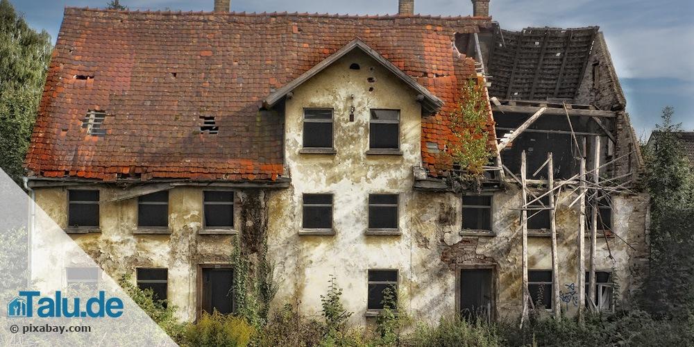 Vorsicht beim Hauskauf