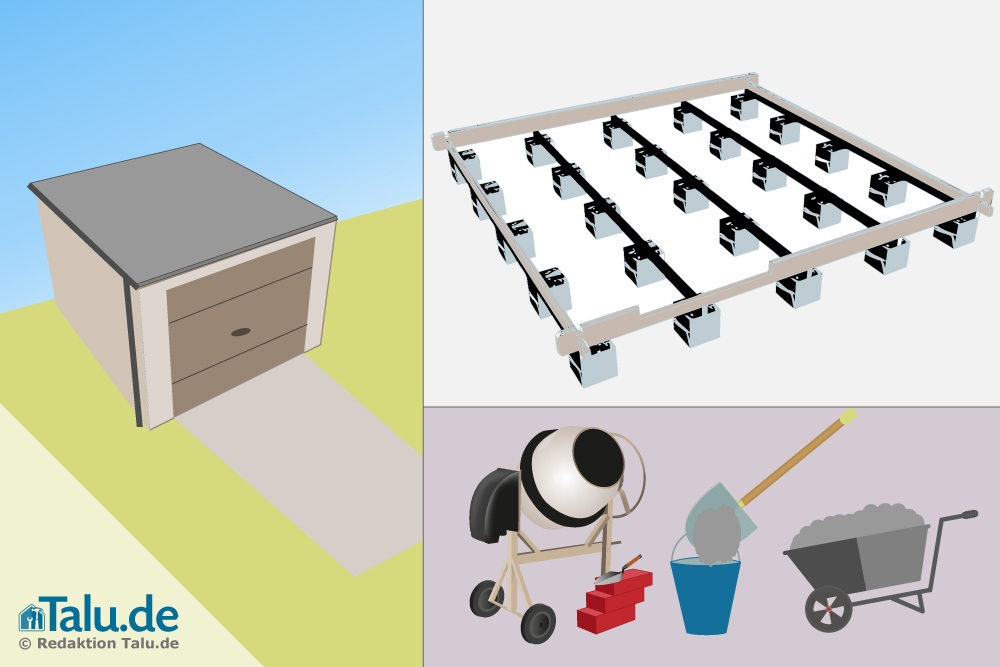 punktfundament berechnen und erstellen anleitung. Black Bedroom Furniture Sets. Home Design Ideas