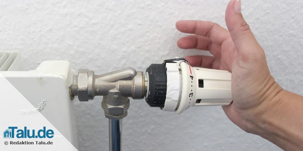 Häufig Heizungsthermostat wechseln - DIY-Anleitung - Talu.de DL84
