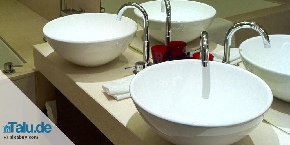 Runde Waschbecken als Alternative