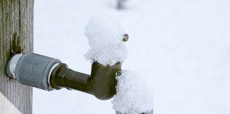 Wasserleitung eingefroren