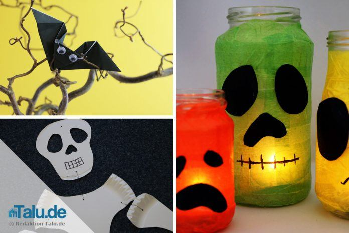 Deko Fur Halloween Basteln 3 Gruselige Ideen Fur Kinder Talu De