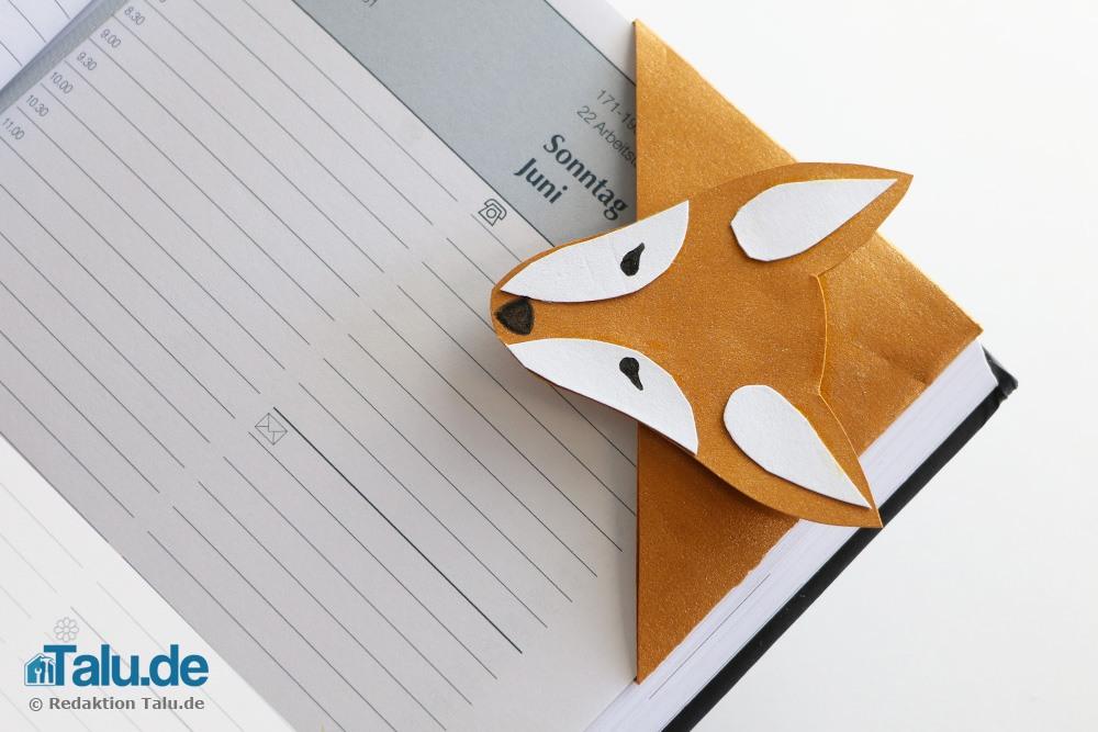 Fuchs-Lesezeichen