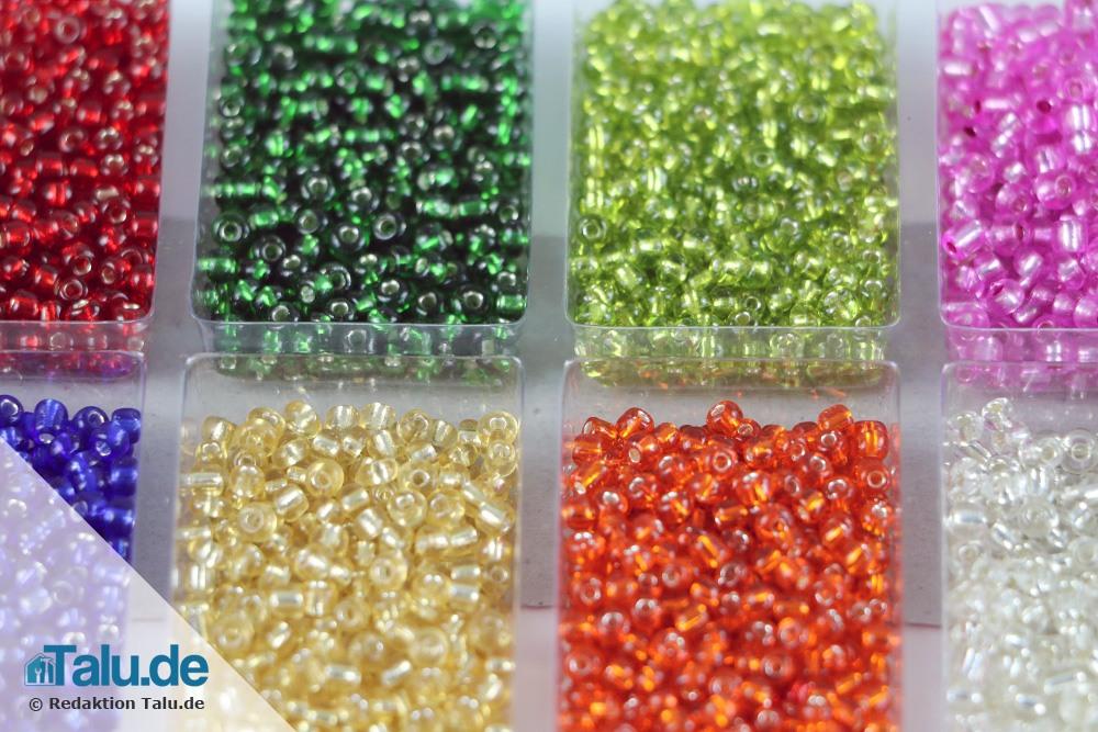 Rocailles-Perlen