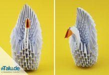 3D Tangrami Schwan