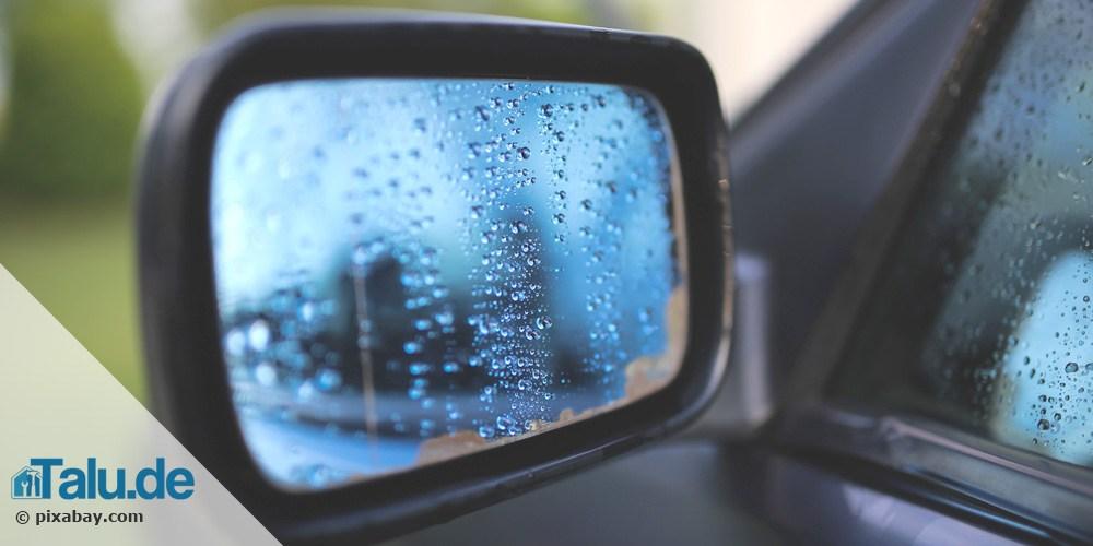 Außenspiegel kleben