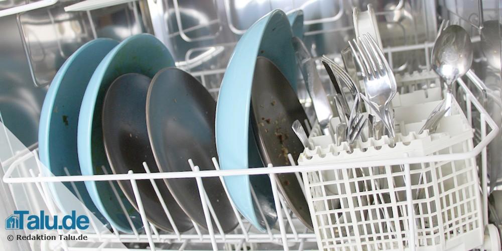 Spülmaschine häufig einschalten