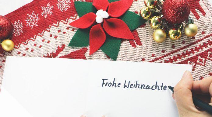 Zitate und Sprüche für Weihnachtskarten