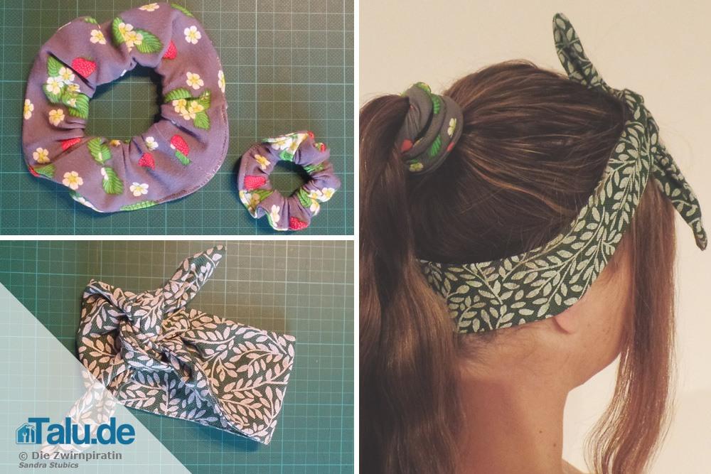 Haarband Nähen Schnittmuster Diy Anleitung Für Stirnband