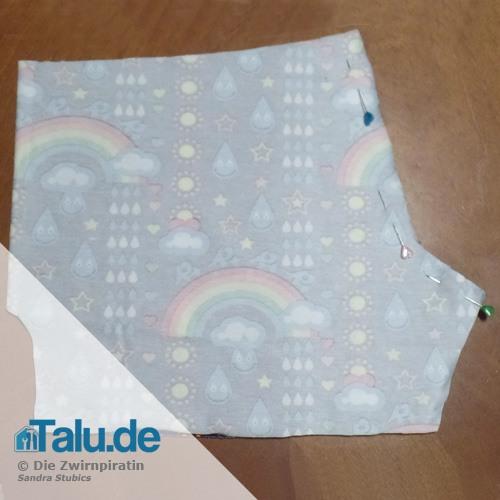 Pumphose fürs Baby nähen - Anleitung & kostenloses Schnittmuster ...