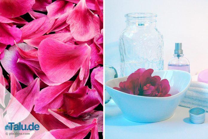 rosenwasser selber machen rezept anleitung. Black Bedroom Furniture Sets. Home Design Ideas