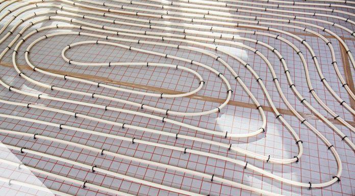 Fußbodenheizung Aufbau