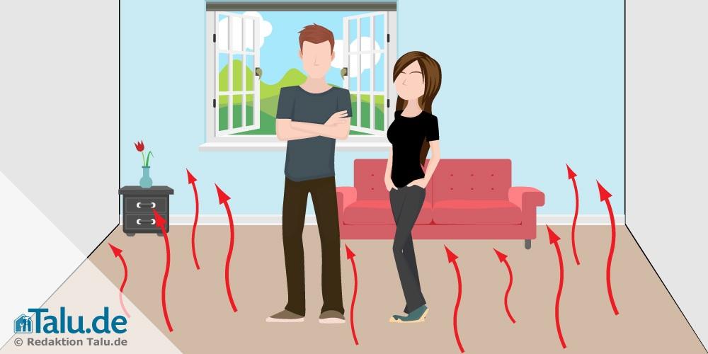 fu bodenheizung vorteile nachteile im berblick. Black Bedroom Furniture Sets. Home Design Ideas