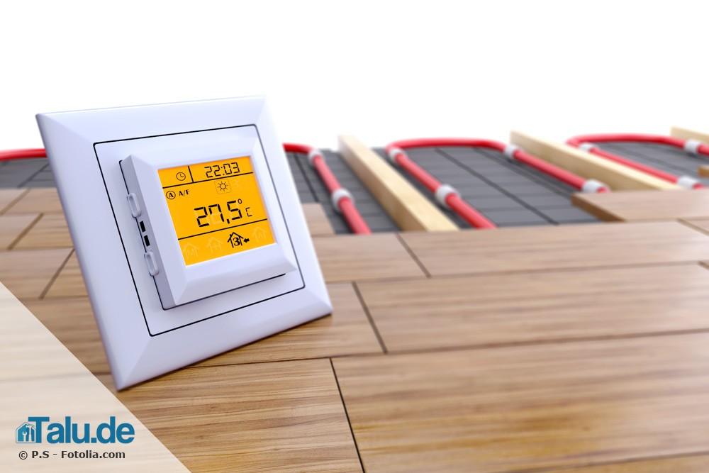 Gut bekannt Die perfekte Vorlauftemperatur für Ihre Fußbodenheizung - Talu.de FS47