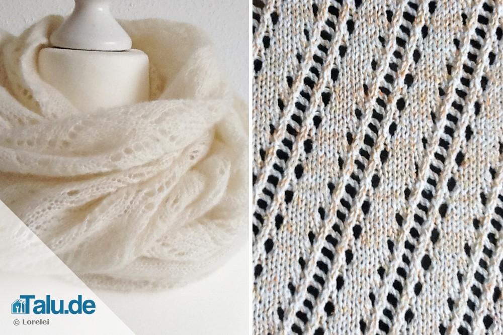 Luxury Spinnennetz Strickmuster Ideas - Decke Stricken Muster ...