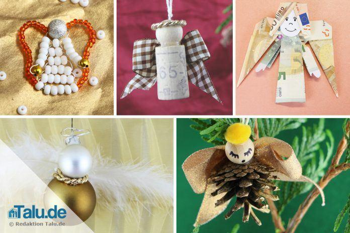 Engel Basteln 7 Ideen Für Weihnachtsengel Anleitung Vorlagen