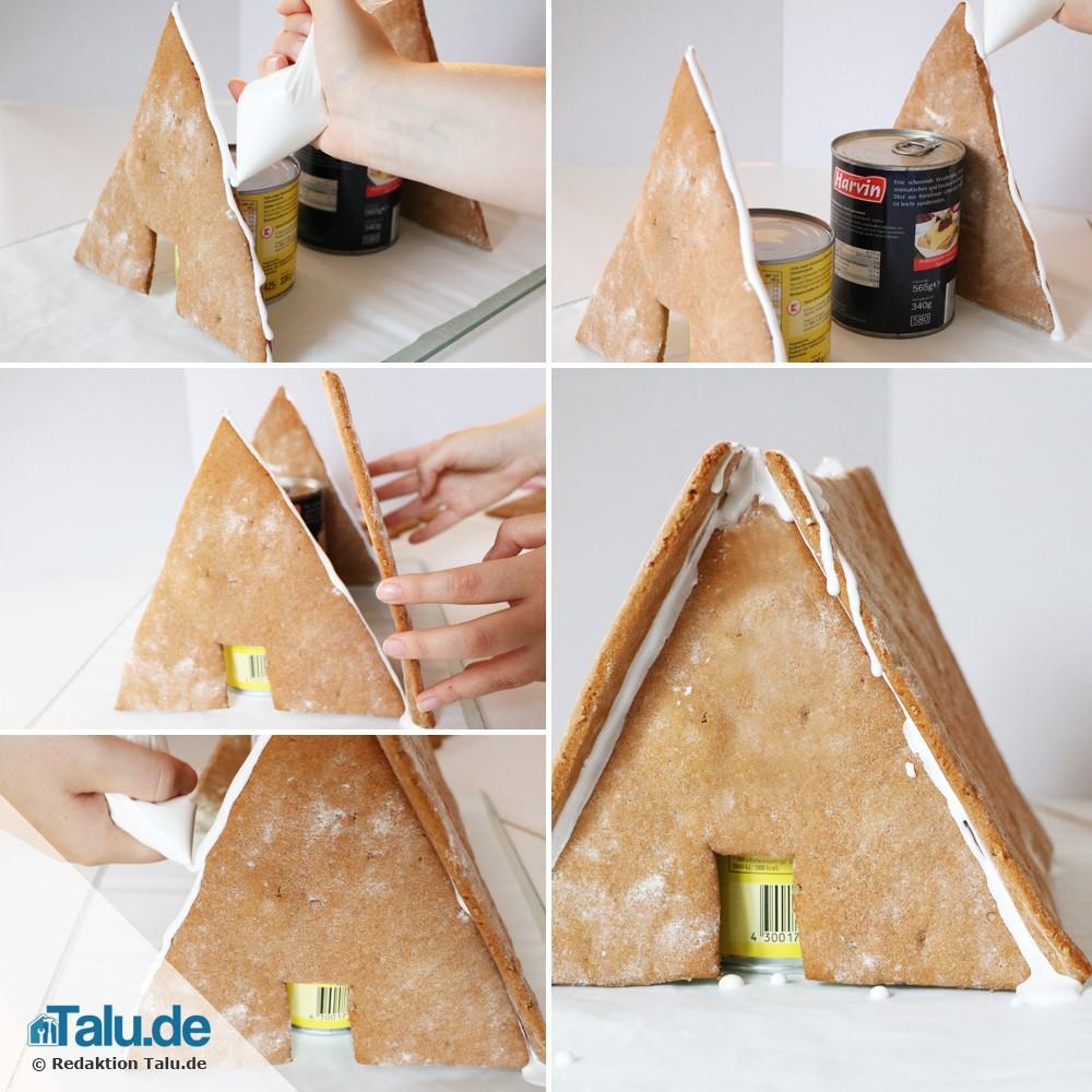 lebkuchenhaus selber machen anleitung einfaches rezept. Black Bedroom Furniture Sets. Home Design Ideas