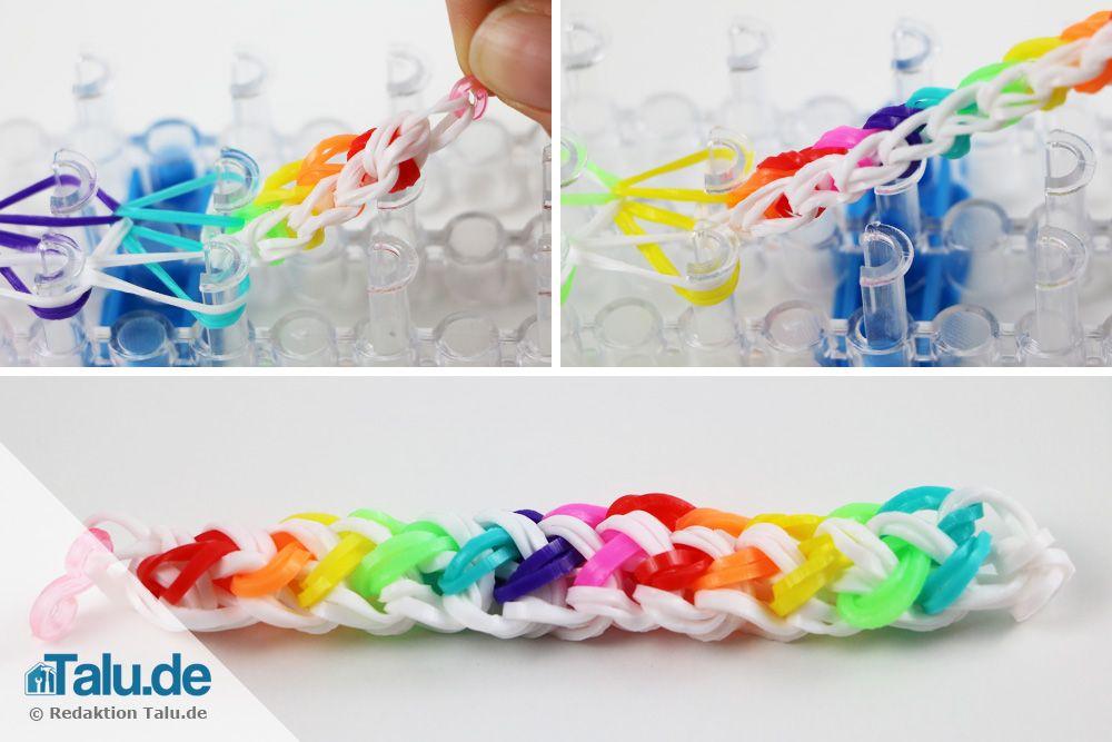 Rainbow Loom Armband