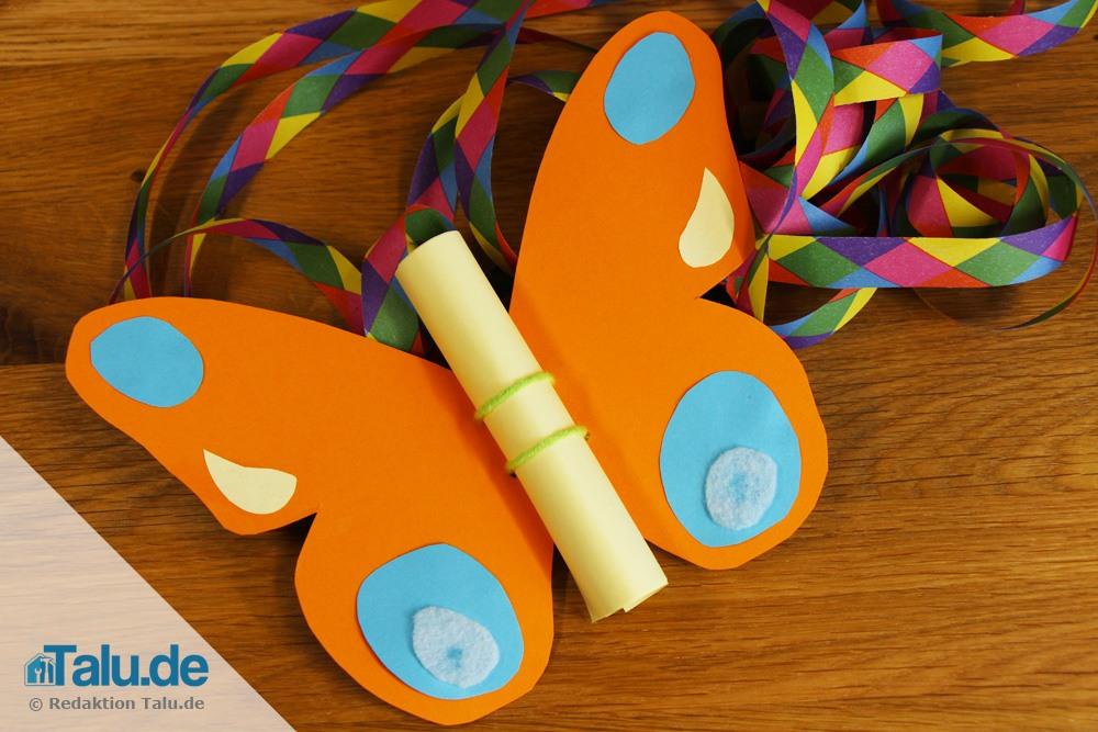 Schmetterlinge Mit Kindern Basteln Einfache Anleitungen Mit