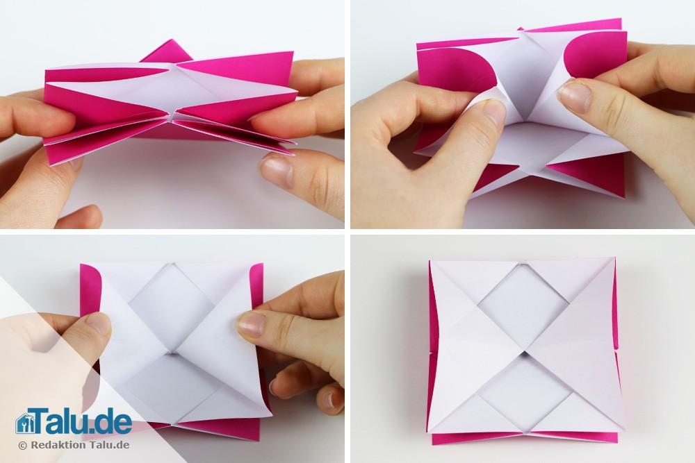 Origami Rose falten