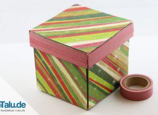 Schachteln basteln