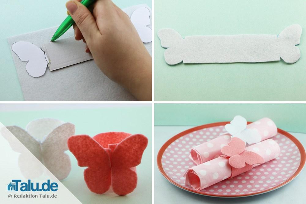 Schmetterlinge mit Kindern basteln - einfache Anleitungen ...