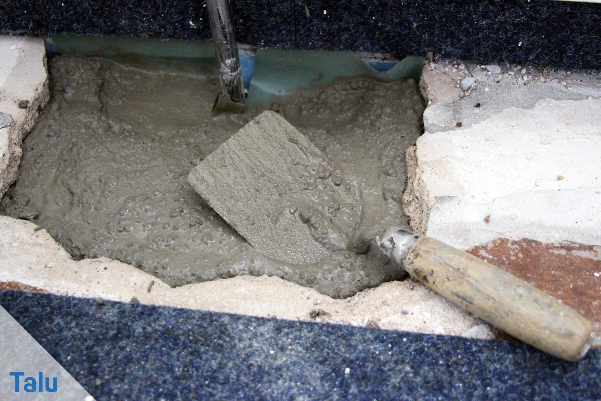 Beton für Reparaturen