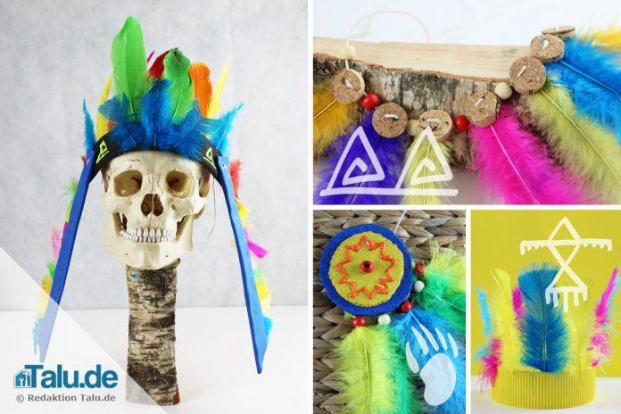 Indianerschmuck Basteln Indianische Symbole Und Bedeutung