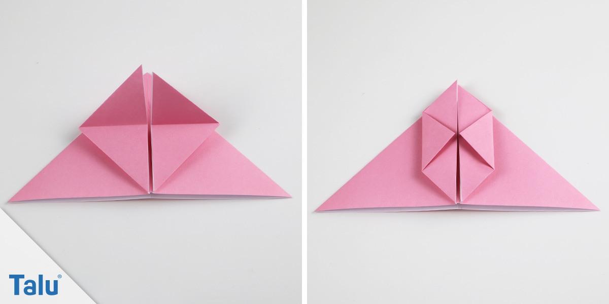 Origami-Hase basteln