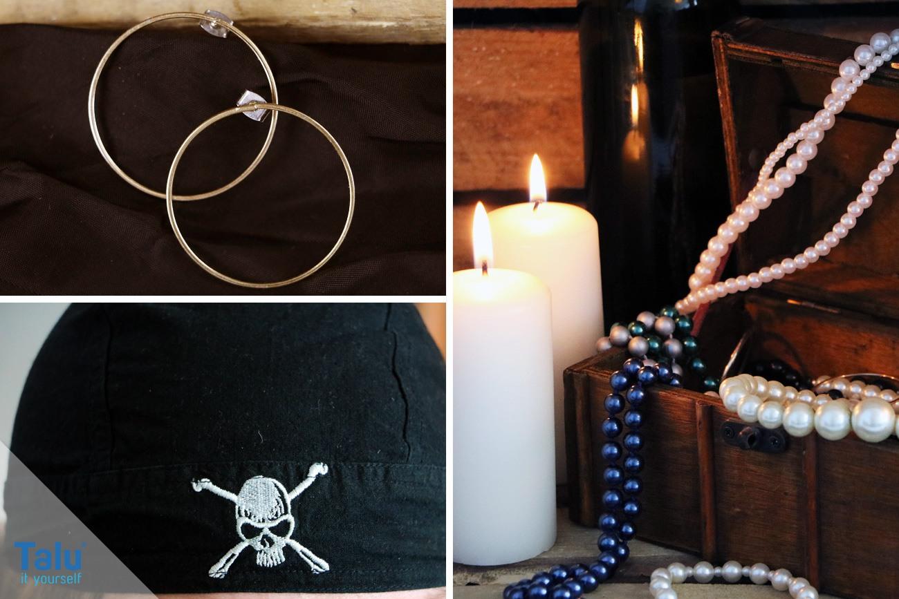 Schmuck für ein Piratenkostüm