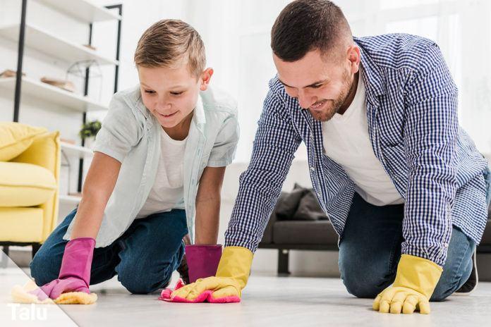 PVC-Boden reinigen