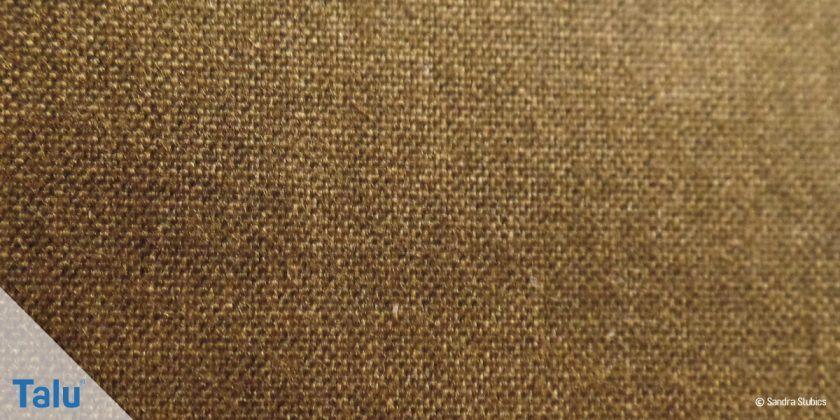 Gewachste Baumwolle