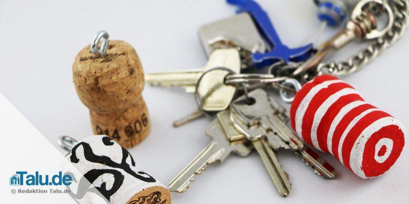 Korken-Schlüsselanhänger