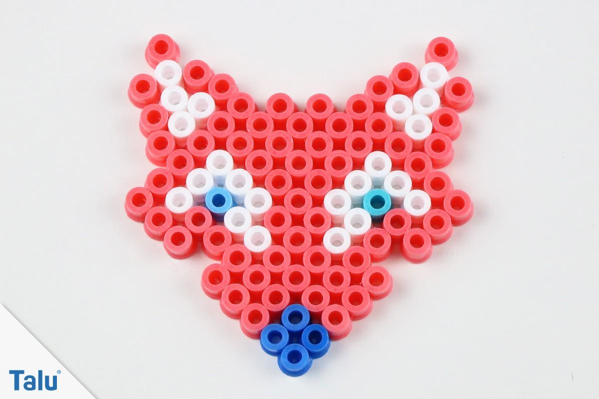 Bügelperlen-Fuchs